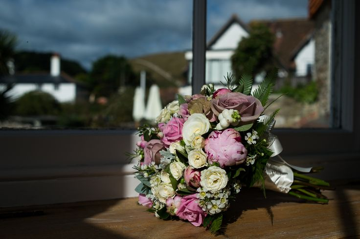 Wedding photography by BH13 Photography http://bh13photography.co.uk Flowers by Fiona Penny Sunflowers