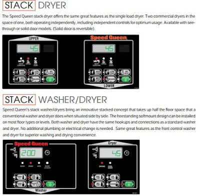 distributor mesin laundry: mesin stck koin washer and dryer speed queen 10,5 ...