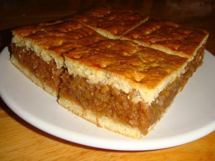 Házi almás pite recept