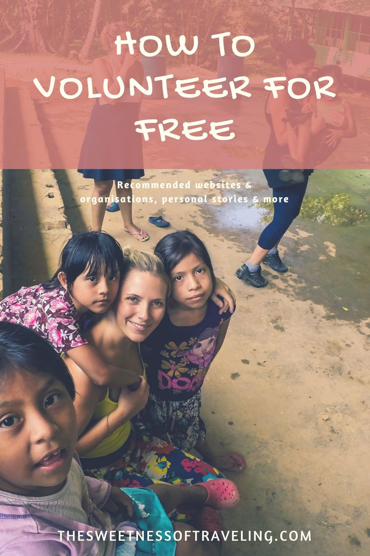 Find out how to volunteer for free with this guide. Includes recommended websites and organisations, tips and personal stories.   Female solo travel blog.