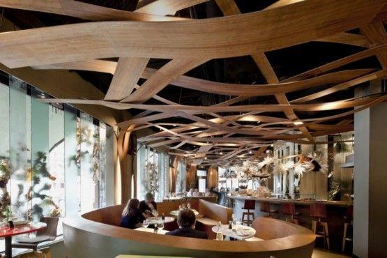 restaurant ceiling decoration