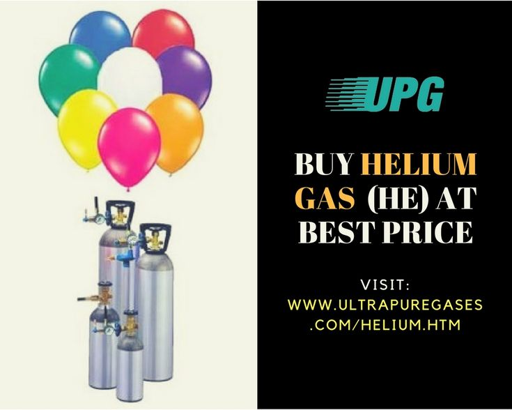 Helium gas supply by Ultra Pure Gases in various purities and cylinder sizes to suit applications ranging from industrial processes to balloon filling. Buy helium gas from UPG online today at: https://www.ultrapuregases.com/helium.htm #helium #gas #industry #gascylinder