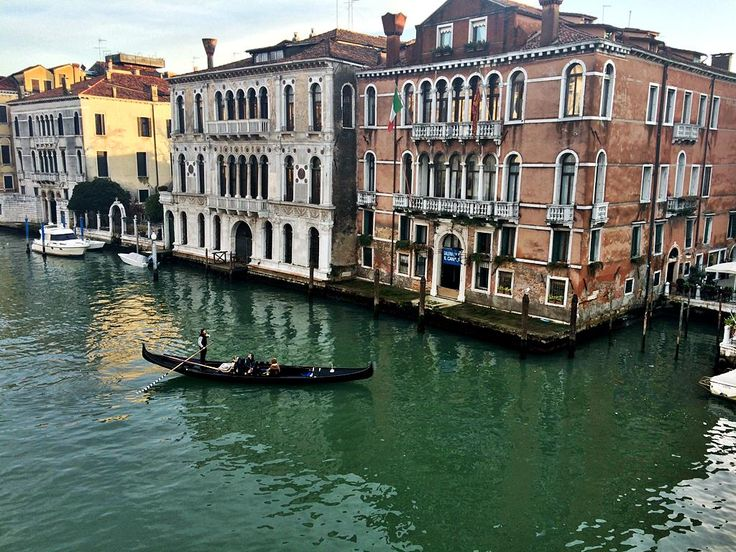 View from Ponte dell'Accademia, Venice, Italy - lilmissboho.com