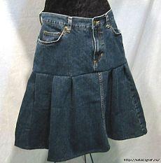 Свежие идеи для старых джинсов