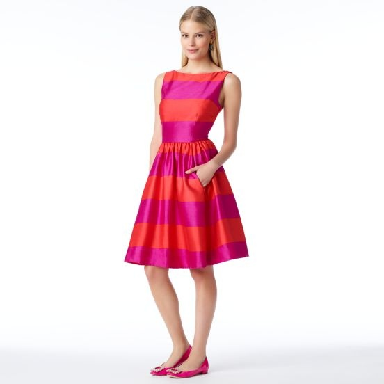 kate spade | striped carolyn dress