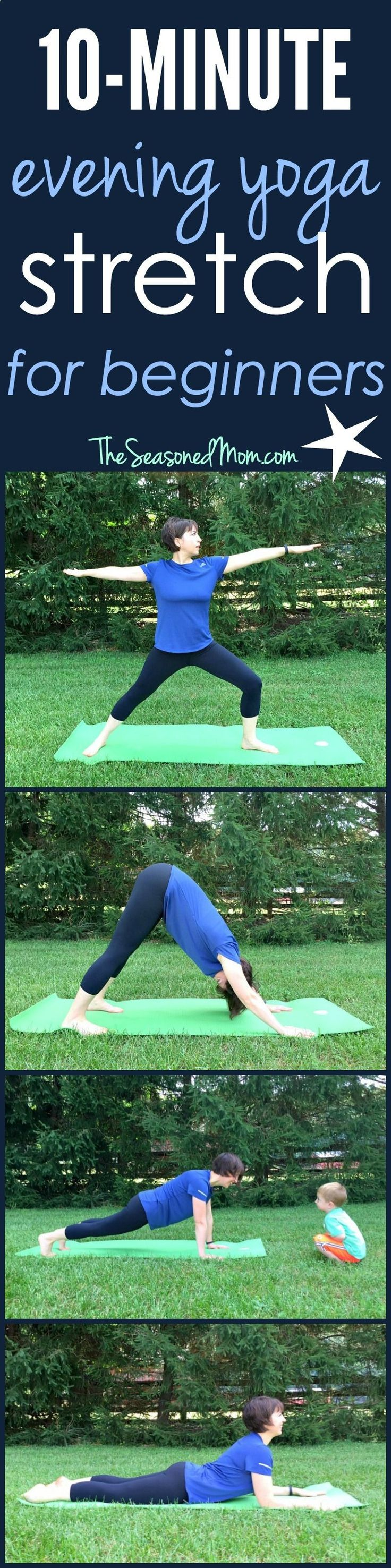 Easy Yoga Workout - If youre looking to improve your flexibility, recover from a tough workout, or just wind down and relax, this 10 Minute Evening Yoga for Beginners is just what you need! Get your sexiest body ever without,crunches,cardio,or ever setting foot in a gym