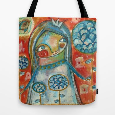 Growing flowers... Tote Bag by Dulcamara - $22.00