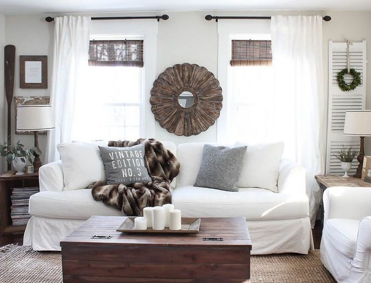 Would you dare to go white when it comes to your sofa? @roomsforrent refreshed her living room for the #newyear with a white @jossandmain sofa, and we love how the space turned out! Shop the look at the link in our profile. #jossfind #whitesofa #designideas