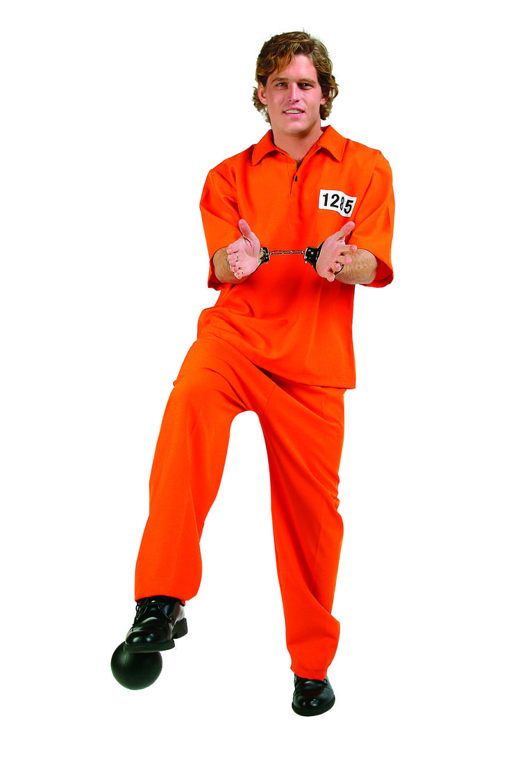Cool Costumes Adult Convict Costume just added...