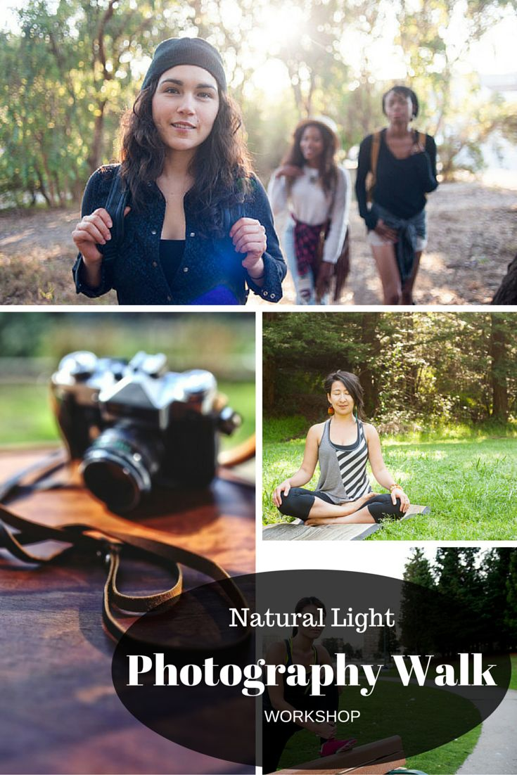 Experience a day taking high quality photos with natural light outdoor. You will discover so much fun when photo taking with SF local #photographer Christian.