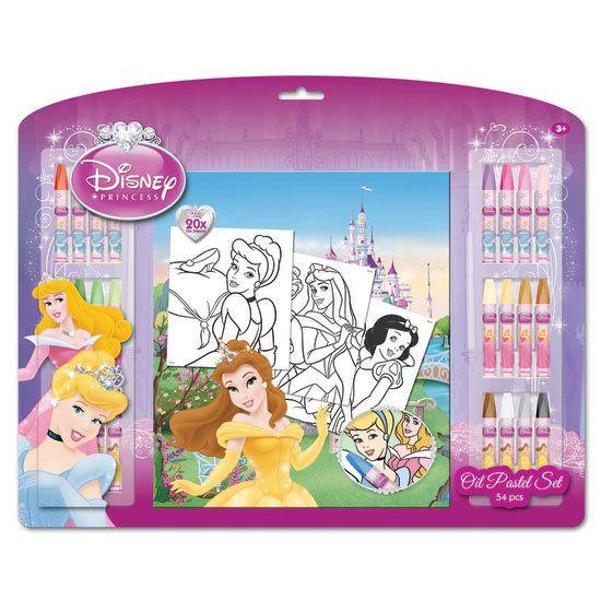Disney kleurplaat prinsessen