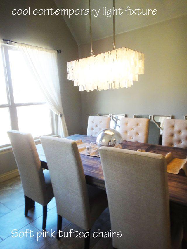 The Peak Of Tres Chic Rustic Glam Dining Room