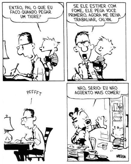 Tirinhas Calvin e Haroldo 2 #CalvineHaroldo