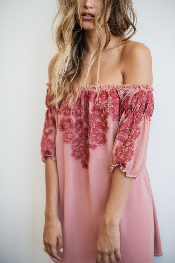 Sicily mini dress in sangria