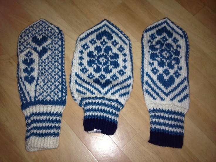 Couples gloves, 100% wool