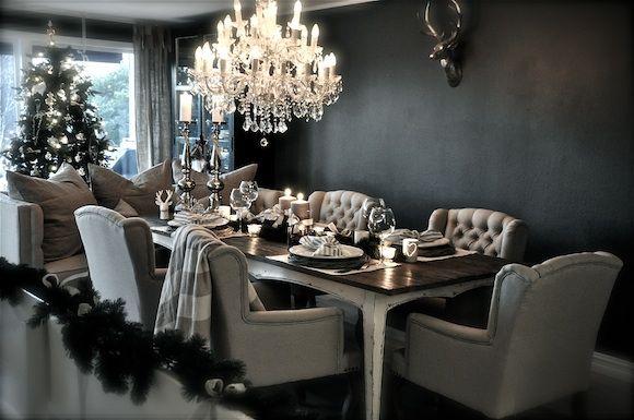 Villa Paprika Christmas Pinterest Villas, Grey Dining Rooms and ...