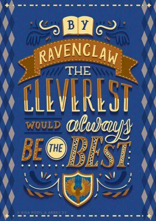 Ravenclaw Typography Lettering