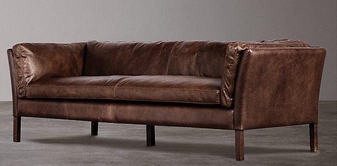 Sofas Restoration Hardware Comes In Oxblood Red