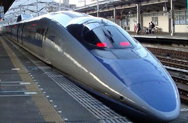 GREAT WEBSITE FOR TRAINS WITHIN JAPAN and TIMES    Tokyo - Hiroshima : 4 hours 8 min ¥18,620  (£137, $220)   Tokyo - Kyoto :  2 hours 18 min.