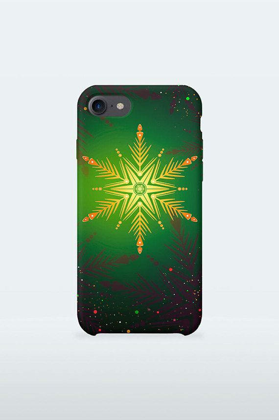 Green Christmas Mobile Case Art Winter Holidays design for for iPhone Samsung Galaxy 3D Print full wrapped hard plastic back shell cover  iPhone 4 / 4S iPhone 5 / 5S iPhone 5C iPhone SE iPhone 6 iPhone 6S iPhone 6 Plus iPhone 6S Plus iPhone 7 iPhone 7 Plus  Samsung Galaxy S5 / S5 mini