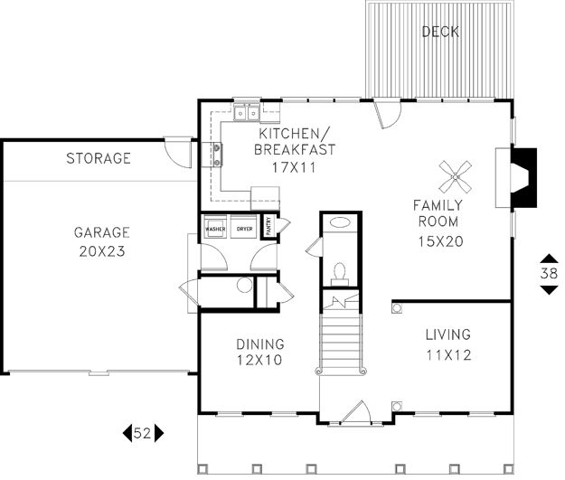 411 best House Plans images on Pinterest | Floor plans, Craftsman ...