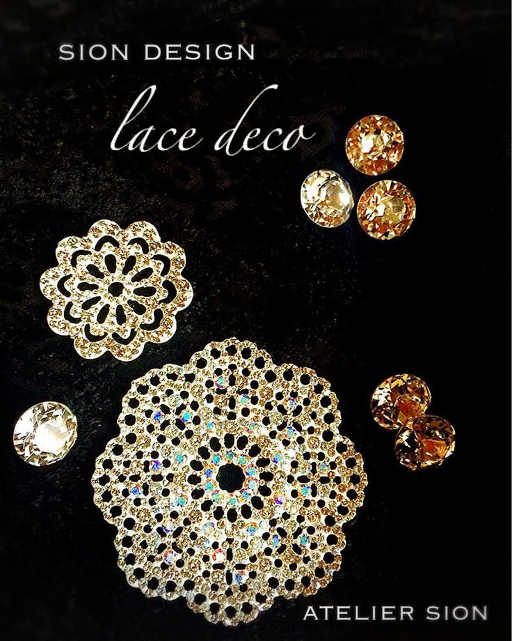 ⭐️新作⭐️【lace deco】 アトリエシオンオリジナル グルーデコでまた新しい世界が広がりました〜✨✨ ※レッスンの詳細はブログよりお問い合わせください #グルーデコ #グルーデコ® #習い事 #レース