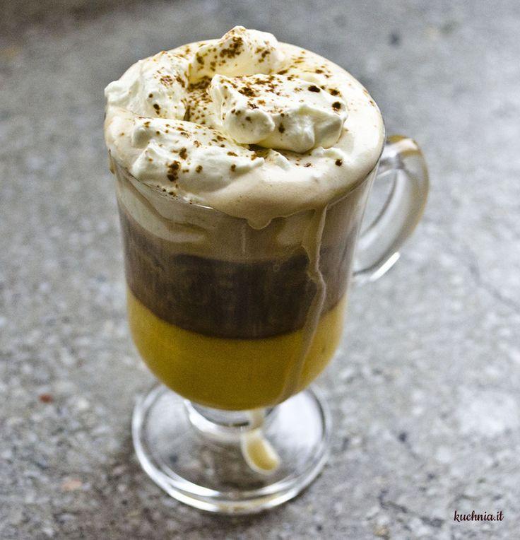 Calimero - bombardino z espresso i bitą śmietaną