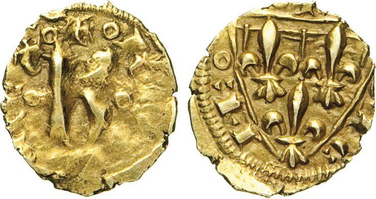 NumisBids: Numismatica Varesi s.a.s. Auction 65, Lot 420 : MESSINA - CARLO I D'ANGIO' (1266-1282) Tarì. Sp. 5 MIR 150 ...