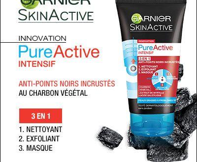 100 Nettoyant Pure Active Intensif 3 EN 1 Garnier à gagner !