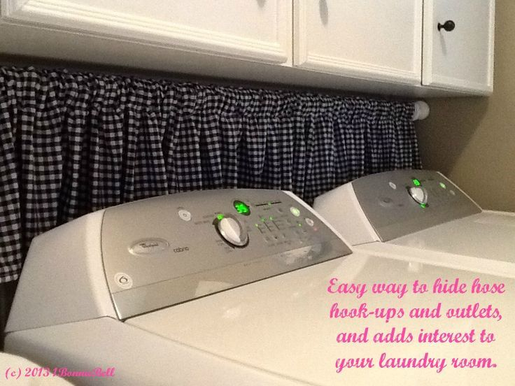 How To Hide Dryer Vent Hose In Laundry Room Yahoo Image