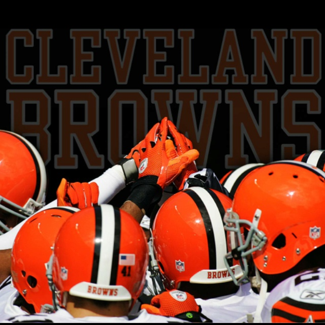 Born and raised a Browns fan... We never die. We love ours guys no matter what!