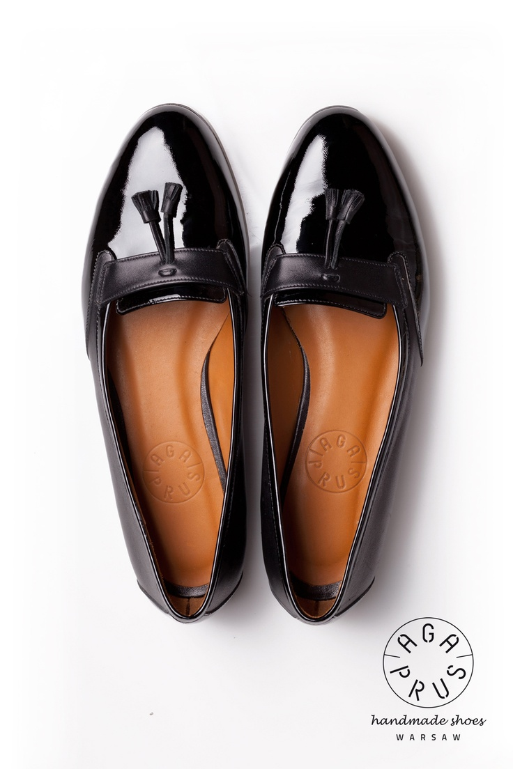 black Loafers by Aga Prus. Handmade