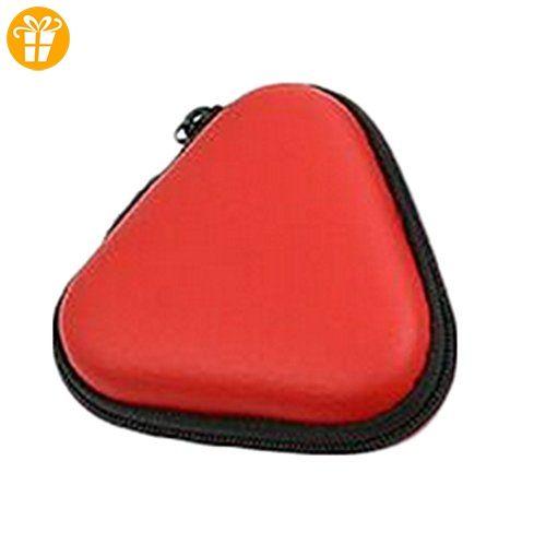 CAOLATOR 1X Fidget Spinner Box Gyro Fingerspitzen Bluetooth Headset Beutel Beweglicher Staubdichtes Gehäuse für Handspinner Rot (Nicht eingeschlossen Fingerspitzen Gyro) - Fidget spinner (*Partner-Link)