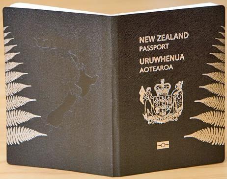 The New New Zealand Passport.