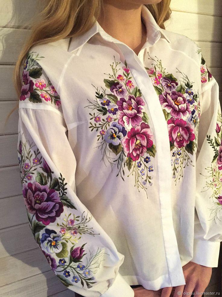 Картинка вышивки для рубашки