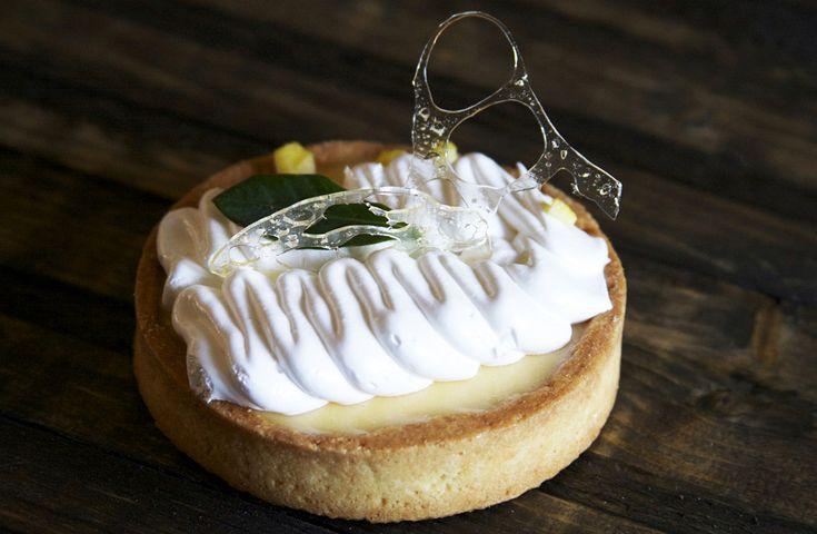 Tart Citron Лимонный тарт с меренгой