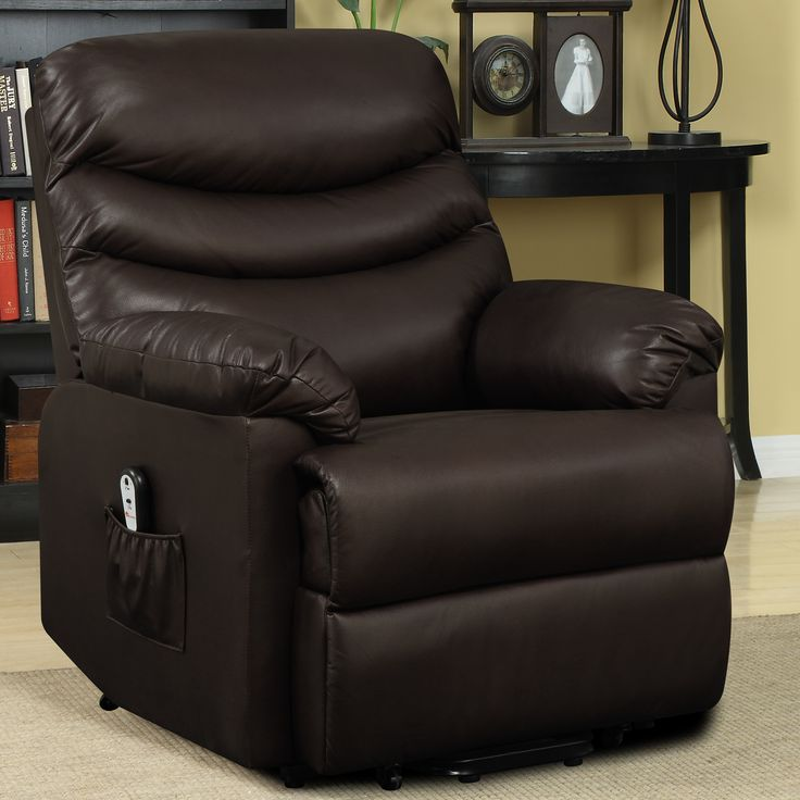 The brown ProLounger Renu Leather Wall Hugger Recliner is a wonderful addition to your home makes getting out of your seat a breeze. & 26 best Power Lift Chairs images on Pinterest | Recliner chairs ... islam-shia.org