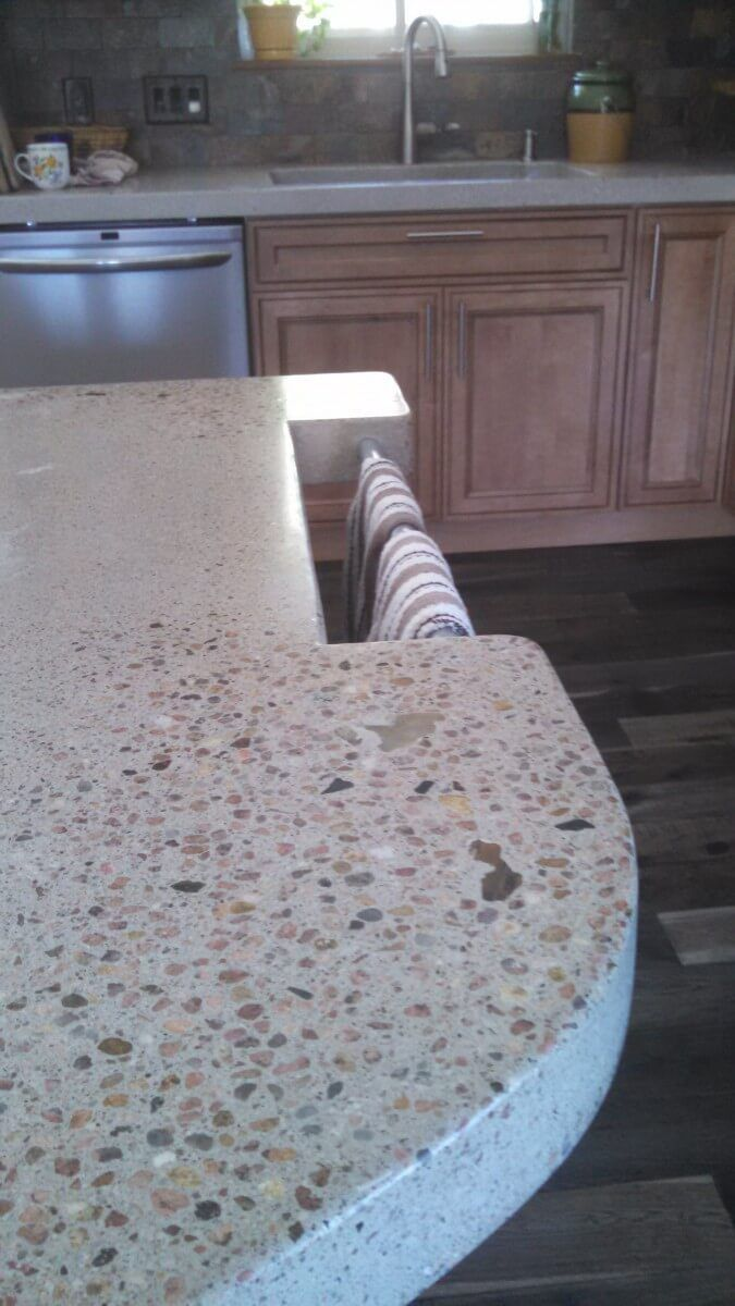 Best 25 Polished Concrete Countertops Ideas On Pinterest