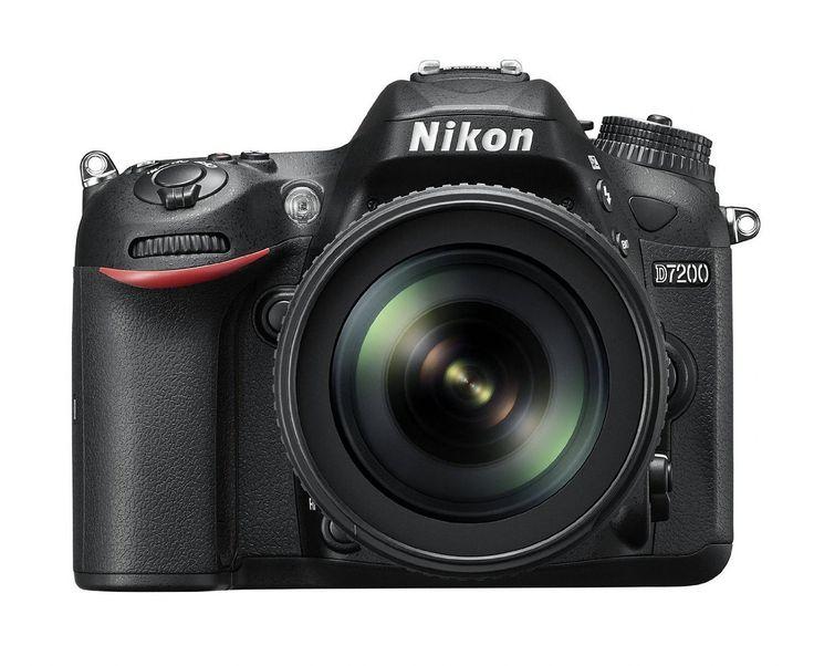 Nikon D7200 SLR-Digitalkamera (24 Megapixel, 8 cm (3,2 Zoll) LCD-Display, Wi-Fi, NFC, Full-HD-Video) Kit inkl. AF-S DX Nikkor 18-105 mm 1:3,5-5,6G ED VR Objektiv