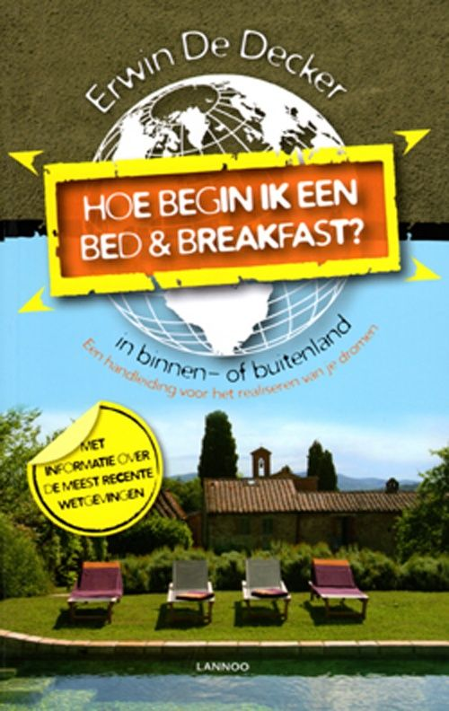 Starten van een Bed en Breakfast in het buitenland