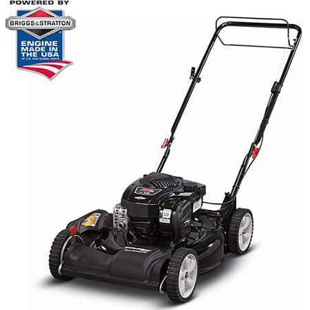 """Murray Select 21"""" Gas Self-Propelled Lawn Mower with Side Discharge and Mulching - Walmart"""
