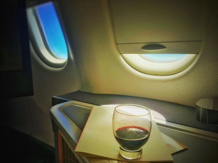 Port wine on the Cathay Pacific wine list