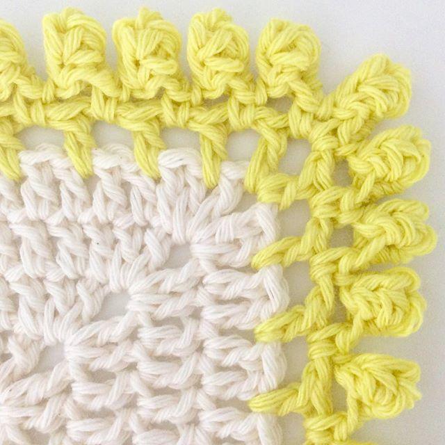 elisabethandree crochet blanket edge