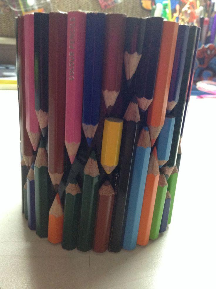 Penholder using pencils