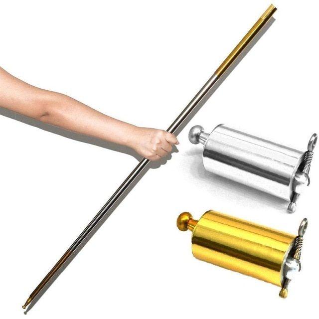 Portable Martial Arts Metal Magic Pocket Staff High Quality Pocket 1.1m Tool