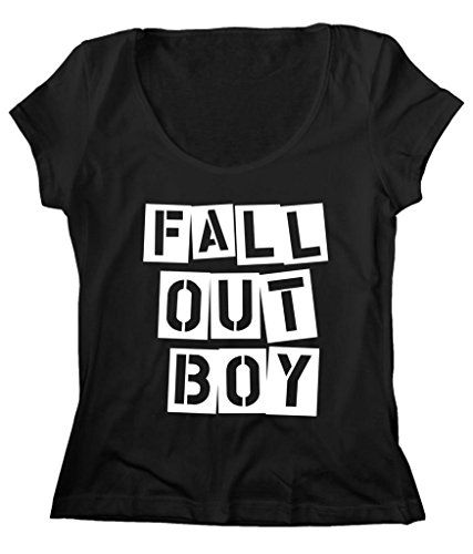 Women's Scoop Neck Fall Out Boy Band Boys FOB T-Shirt FREE SHIP_$24.25_100% Cotton http://www.amazon.com/dp/B016K5LI1S/ref=cm_sw_r_pi_dp_Arcsxb10Y32ZW