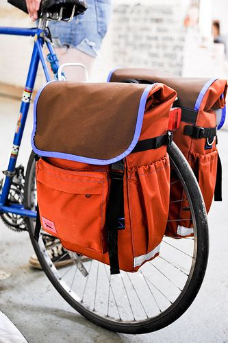 Wish I knew about these before I bought my Ortleibs. Also wish they were closer in price to Ortliebs.    Design your own panniers...you pick the color. Made in the USA.   Roll Top Panniers from Swift Industries | handmade bicycle panniers and accessories
