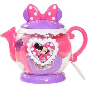 Disney Minnie Mouse Bow-Tique Large Teapot Play Set…for anna….she likes the Princess one too
