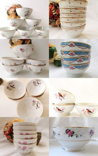 Vintage Decor And Collectibles French Country Home Decor Retro Kitchen French Cafe Au Lait Bowl