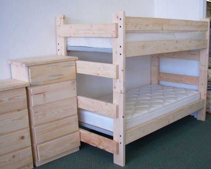 Unfinished Pine Furniture - Backwoods Rustic Home Furnishings.$189